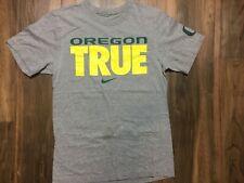Nike Ncaa Oregon Ducks Tee Shirt Gray S