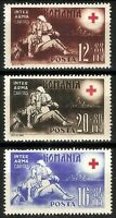 DR Nazi Romania Rare WWII Stamp 1943 Legion Soldiers Battlefield Nurse Red Cross