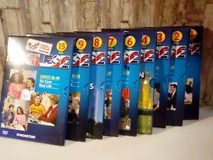 Serie di 9 DVD Corsi di Lingue l'Inglese DeAgostini Nuovi