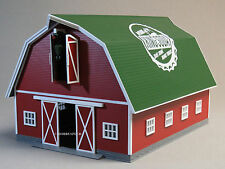 MTH RAIL KING LIGHTED RED BARN KING SODA O GAUGE train farm animal 30-90498 NEW