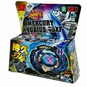 TOUPIE BEYBLADE MERCURY ANUBIS (ANUBIUS) Black Blue Legend Limited  EN BOITE