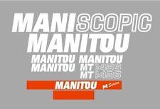 Sticker, aufkleber, decal - Manitou Maniscopic MT 1436