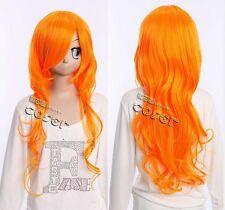 W-273 One Piece Nami n. 2 años cosplay Orange 65cm peluca Wig rizos Curl