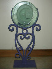Padilla Wrought Iron/Glass  Candle Holder - Moon - Made in Mexico - NEW!! (C 2)