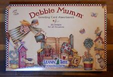 20 Debbie Mumm Leanin Tree Greeting Cards B-Day,Anniversary,Thank You, Sympathy