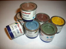 PEINTURES HUMBROL ENAMEL COLOR 14 ML  N°7 LIGHT BUFF BRILLANT