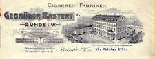 Bünde-Gebrüder Bastert-Cigarren- Fabriken-Werksgelände