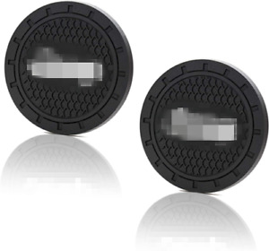 2.75 inch 2 PCS  Vehicle Travel Auto Cup Holder Insert Coaster Mat for Jeep