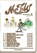 McFly Harry Judd Hand Signed Autographed Radio Active Concert Promo Tour Flyer