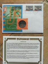 Niederlande Numisbrief Medaillenbrief ECU Brief 1998 Hockey