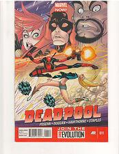 DEADPOOL #11, NM or better, 1st Print, Marvel Comics (August 2013)