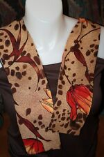 ABSTRACT FLORAL SCARF/SASH EXCELLENT CONDITION