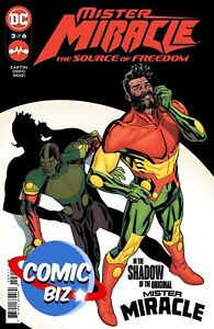 MISTER MIRACLE SOURCE OF FREEDOM #3 (2021) 1ST PRINTING PAQUETTE MAIN COVER DC