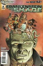 Frankenstein Agent Of SHADE #2 (VFN) `12 Lemire/ Ponticelli  (Autographed)