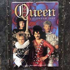 Rare Vintage Queen Freddie Mercury 2000 Poster Calendar 11�X16 1/2� Mint Sealed
