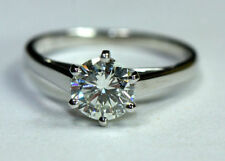 Engagement Excellent Cut Natural VS1 Fine Diamond Rings