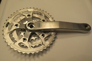 White Industries 175mm Square Taper Crankset, Sugino Chainrings, GREAT CONDITION