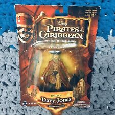 """Pirates of the Caribbean At World's End Human Davy Jones 3.75"""" Figure NEW Zizzle"""