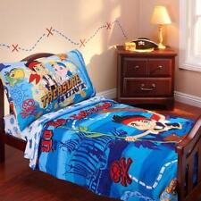 Disney Jake and the Never Land Pirates 4-Piece Toddler Bedding Set NIP
