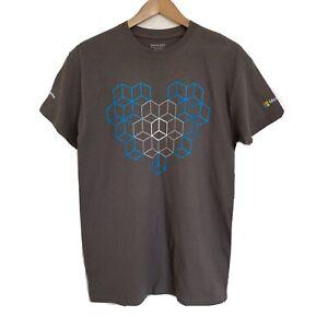 Microsoft Ignite Tour Men's T Shirt Size Medium Grey Rare ! READ description.