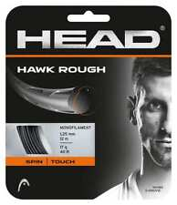 NEW Head Hawk Rough 17G Guage Tennis String 40 foot Pack Set Monofilament