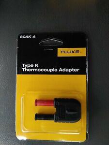 80Ak-A fluke Type K Thermocouple Adapter