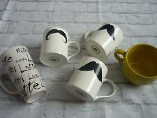 Mug cups lady tea collection job lot Bundle Friends style large moustache mugs
