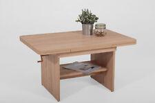 Jan 07 /Couchtisch Tisch Funktionstisch Höhenverstellbar Sandeiche Ausziehbar