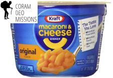 New listing Kraft Macaroni & Cheese Dinner Cups, Original, 2.05 oz, 8 Pack