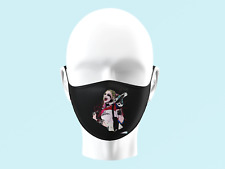 Suicide Squad Harley Quinn Face Mask Personalised Kids Adults Washable 0293