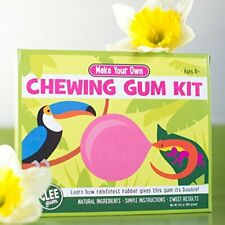 Gum DIY Make Your Own Chewing Gum Candy Kit w/ Natural Rainforest Rubber
