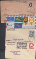 KENYA UGANDA TANGANYIKA KUT 1950's/60's FDC's (x7) (ID:563/D47849)