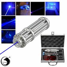 Blue 1MW  Laser Focus Pointer Pen Lazer Light Visible Beam Adjust Boxed