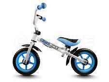 Laufrad für Kinder Metallrahmen V-BRAKE Schutzblech Ricobike RC-105 weiss-blau