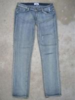 Paige Jimmy Jimmy Mid-Rise Skinny Jeans Womens Sz 27 Distressed L 30