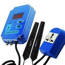 Dual Water PH ORP Controller + mV PH Probe Electrode C02 O3 110V or 220V
