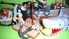 Lego Duplo Piratenschiff 7881Fürstin der Finsternis,7882Piraten Haiangriff,7883