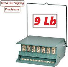 New listing Audubon 7511I 1-Ports Steel Hopper Bird Feeder 9 lbs.