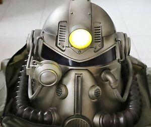 Fallout 76 T-51B Power Armor Helmet & New Canvas bag 24 figurines and box Only