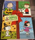 Peanuts Deluxe Holiday Collection DVD 3 Dic Christmas Halloween Thanksgiving NEW