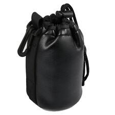 Kunstleder Objektivköcher Köcher Beutel Tasche JP-21 für Objektive 12cm Ø8,5cm