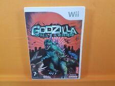 *wii GODZILLA UNLEASHED (NI) Destruction! Nintendo PAL UK