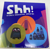 Shh! A Chris Haughton Boded Set - New And Sealed