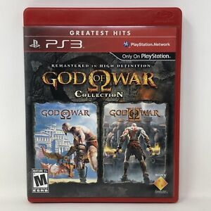 God of War Collection Sony PlayStation 3 PS3 Game Complete w/ Manual Tested