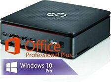 Fujitsu Esprimo Q920 i5-4590T 8GB 240GB SSD Windows 10 Mini-PC Office 2019 Vollv