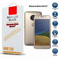 For Motorola G5 Tempered Glass Mobile Phone Screen Protector Premium Film