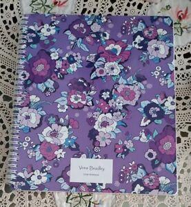 Vera Bradley Large Notebook With Interior Pocket Enchanted Garden