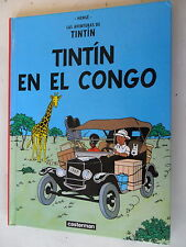 Tintin Jahr congo-hispano-Hardcover Klein-castermann-z. 1-2/2
