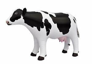Jet Creations Cow Inflatable Animal Baby 37 inch Long Great for Pool Party Decor