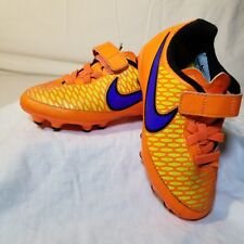 Nike Magista Onda Fg Soccer Cleats Orange Purple Yellow Black$55 Youth Boys 10y
